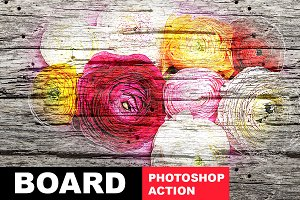 Board Photoshop Action