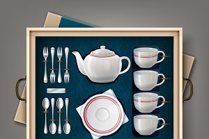 Set of kitchenware