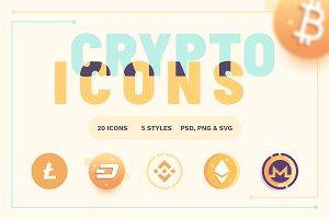 Cryptoicons