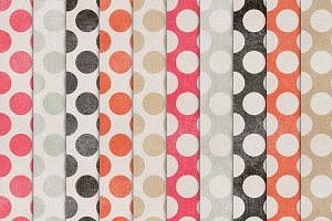 Color Crush 21 {shabby dots}