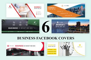 6 Business - Facebook Covers