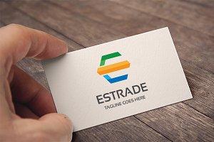 Letter E - Estrade Logo