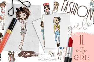 11 Fashion Dolls