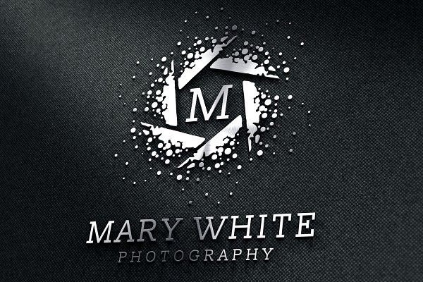 Modern Photographer Logo Psd Template Best Quality Mockups Free Download Files