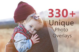 330 Unique Photo Overlays