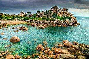 Magical Atlantic ocean coastline