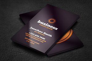 Typo Business Card