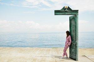 Door on a Pier, Art Monument