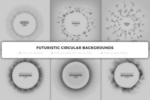 Futuristic Circular Frames