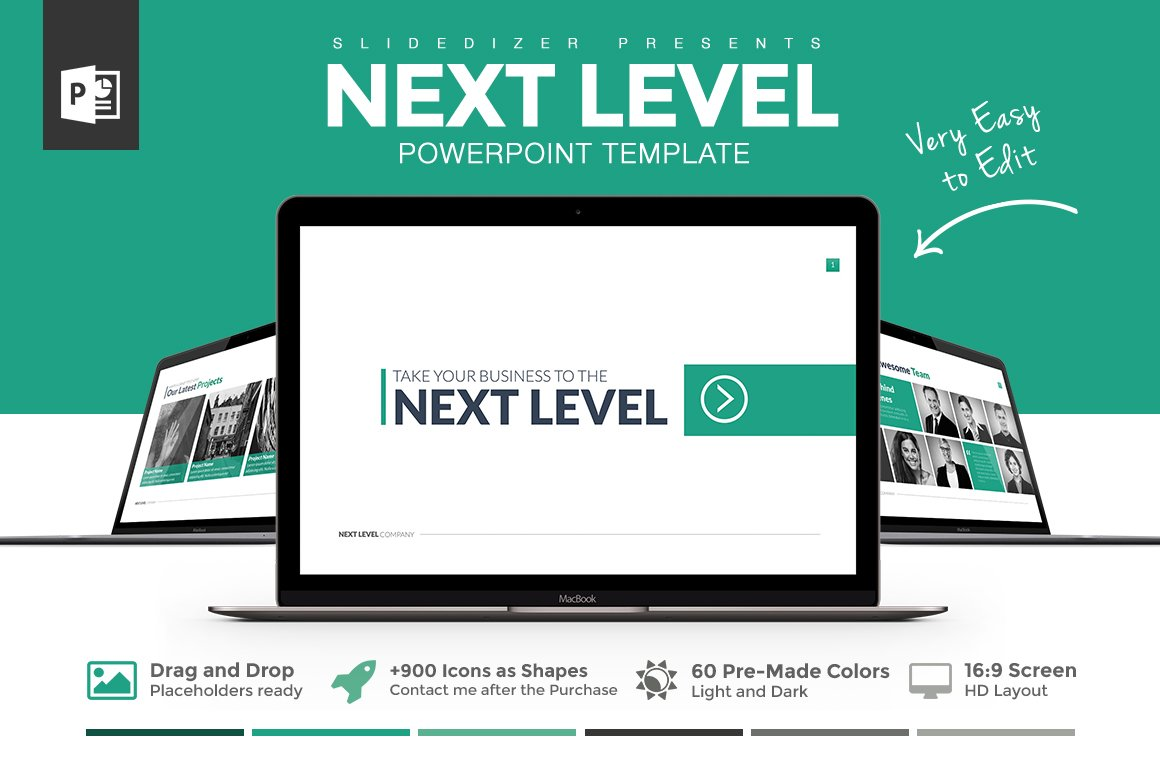 Next level powerpoint template presentation templates creative next level powerpoint template presentation templates creative market toneelgroepblik Image collections