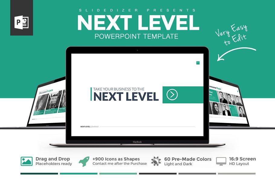 Next Level Powerpoint Template ~ PowerPoint Templates