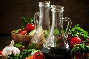 Traditional Italian balsamic vinegar