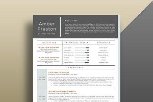 Professional Resume/CV Template