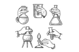 Retro chemical experiments