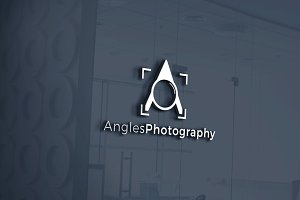Angles Photography | Letter A Logo