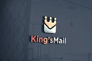 King's Mail Logo Template