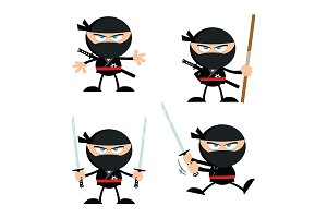 Ninja Warrior Character. Collection