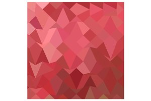 Fandango Pink Abstract Low Polygon B