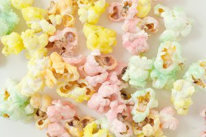 Popcorn, Colorful, Sweet