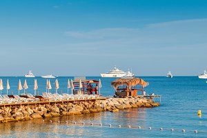 Luxurious beach and pier