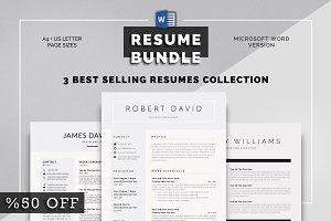 Resume Bundle Word