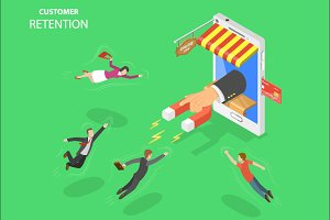 Mobile store customer retention