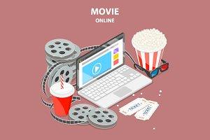 Online home cinema