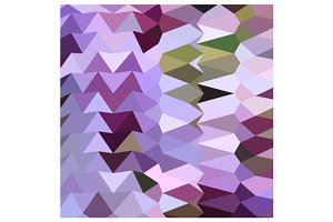 Floral Lavender Abstract Low Polygon