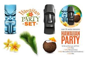 Hawaiian Party Set