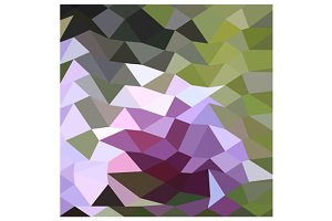 Pale Lavender Abstract Low Polygon B