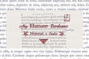 1589 Humane Bordeaux set