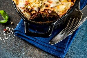 Traditional italian lasagna