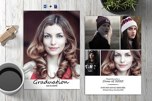 Senior Graduation Announcement V03