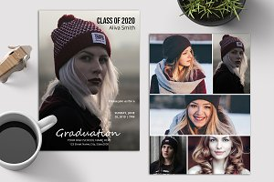 Senior Graduation Announcement V04