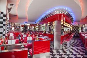 fast food restaurant, Strasbourg,