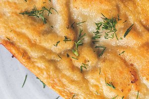 Cheburek is a fried pie with meat