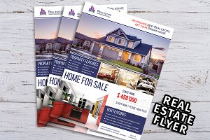 Real Estate Flyer Template V02