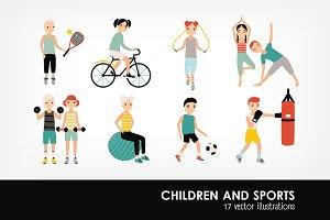 Family sports activity