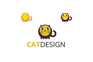 Cat Design Logo