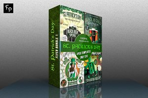 St Patrick's Day Flyer Bundle 1