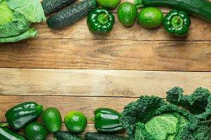 Frame from Fresh Raw Organic Green V