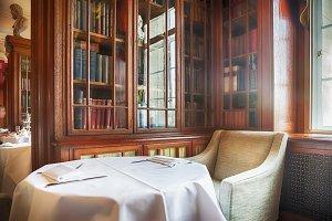 classic tea room in English club