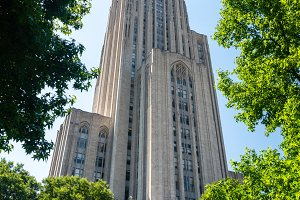 Cathedral of Learning building at