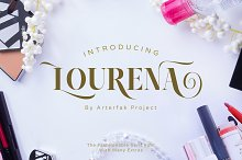 Lourena by  in Serif Fonts