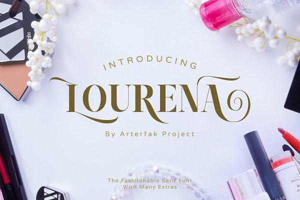 Serif Fonts: Arterfak Project - Lourena