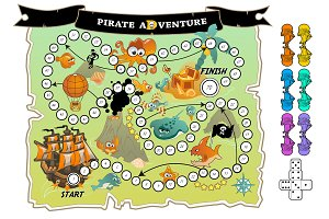Board Game: Pirate Adventure