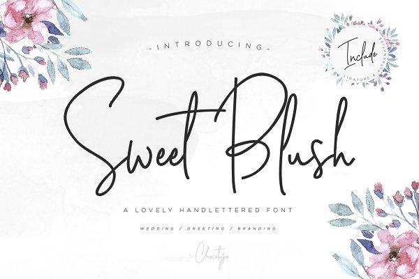 Script Fonts: Chocotype - Sweet Blush Font