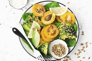 Healthy pure organic food