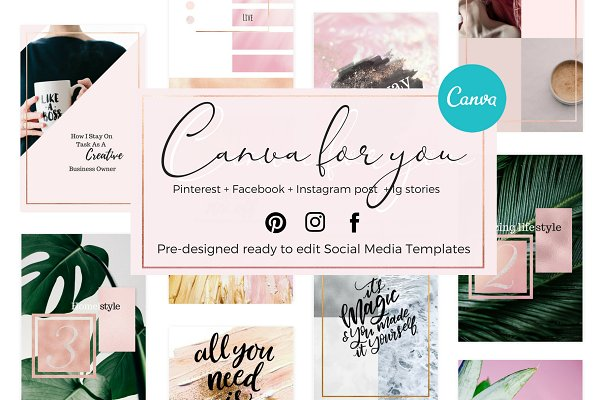 Canva for you - Social media Bold
