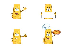 Cheese Character Collection - 2